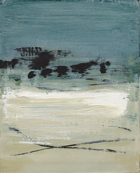 """Original art for sale at UGallery.com   Beach Drift #4 by Heather McAlpine   $300   acrylic painting   10"""" h x 8"""" w   http://www.ugallery.com/acrylic-painting-beach-drift-4"""