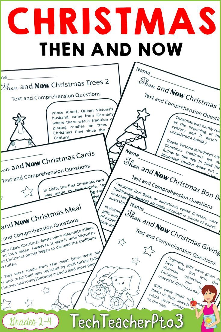 Then and Now Social Studies History of Christmas Traditions   Study history [ 1100 x 735 Pixel ]