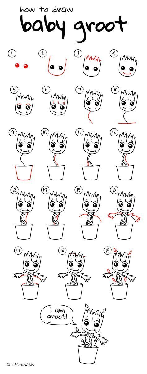 how to draw easy cute stuff