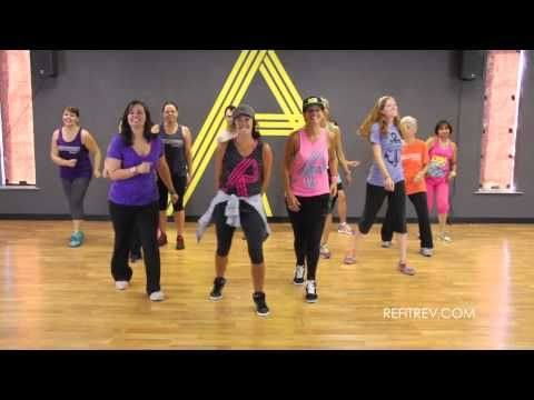 """REFIT® Dance Fitness """"River Bank"""" by Brad Paisley - YouTube"""
