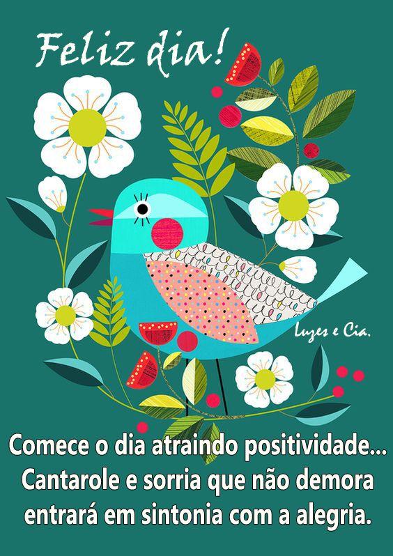 Cartões e Mensagens Luzes e Cia. Cartão Bom dia # ...
