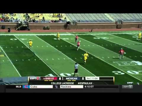 Lacrosse Highlights 2015 - Lacrosse. Ohio State - Michigan Wolverines