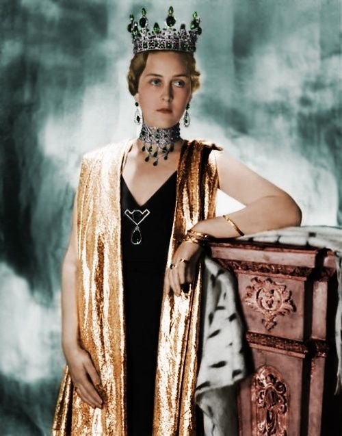 HGDH Grand Duchess Cecilie of Hesse-Darmstadt and by the Rhine (nee HRH Princess Cecilia of Greece & Denmark)