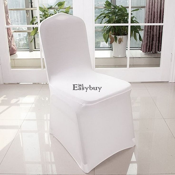 Type: Chair Cover. Very easy to use, simply stretch over the chair. 100 x Chair Covers. Material: Spandex and Polyester. Occasion: Wedding, Party, Banquet. These spandex covers fit most banquet chairs. | eBay!