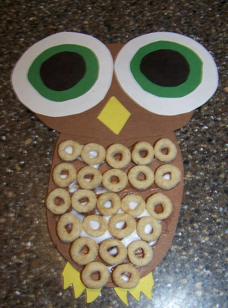 Crafting the Alphabet: Letter O Great for fine motor (cutting, placing Cheerios)