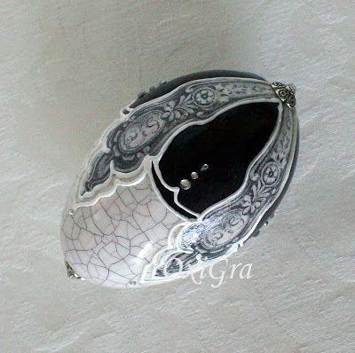 #OxiGra #decoupage #pisanki #egg #reliefy