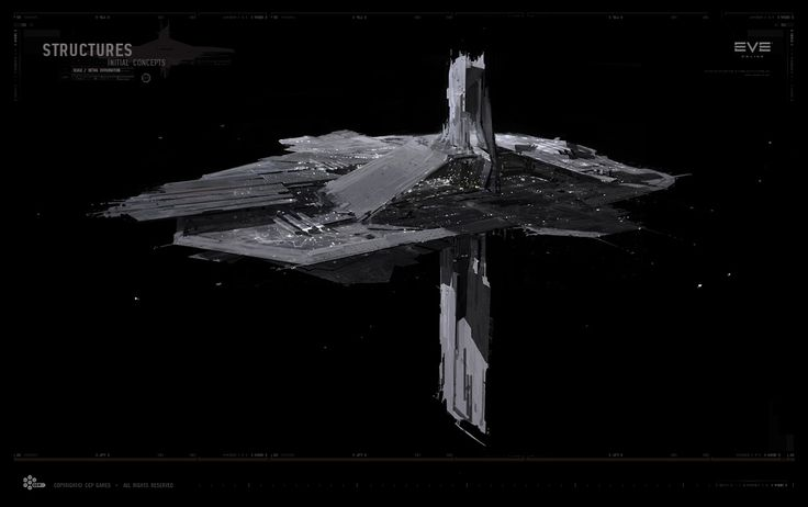 EVE Online Now — Construction of the first medium-class Citadel is...