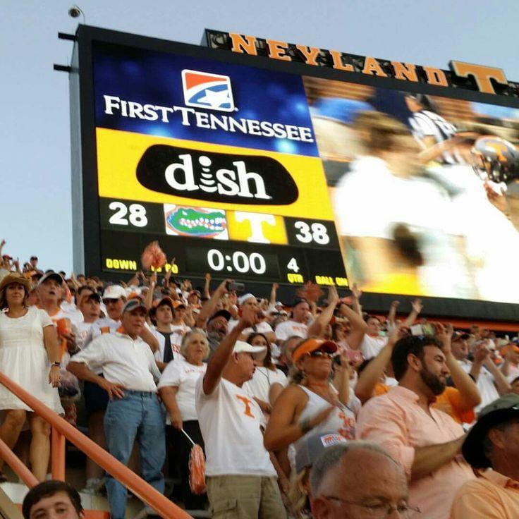 Tennessee beats Florida!