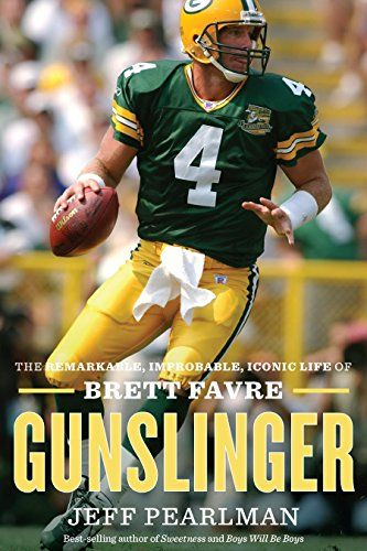 Gunslinger - A towering figure on the field for two decades who breezed into the Hall of Fame, Brett Favre was one of the game's last cowboys, a fastball-throwing, tobacco-chewing gunslinger who refused to give up without a fight. This peerless quarterback guided the Green Bay Packers to two Super Bowls and one championship win, shattering countless NFL records along the way.