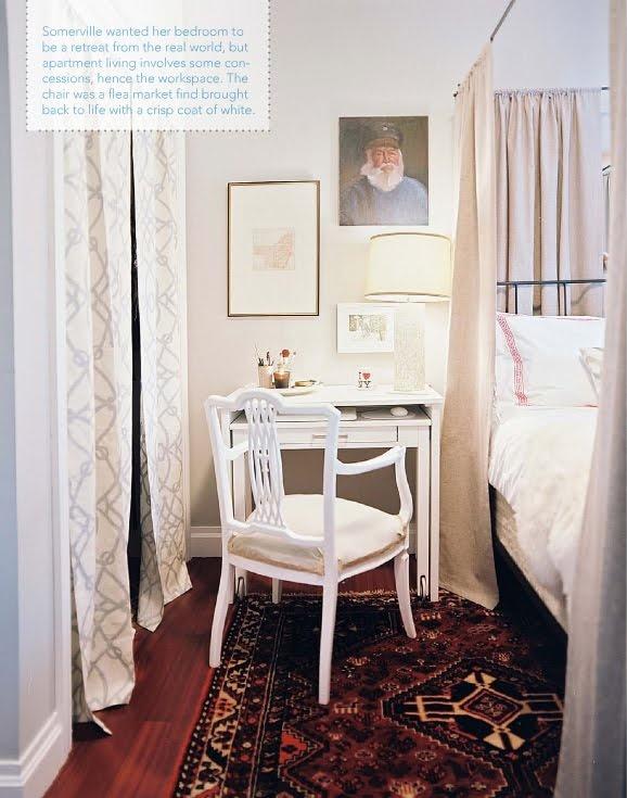 small bedroom desk