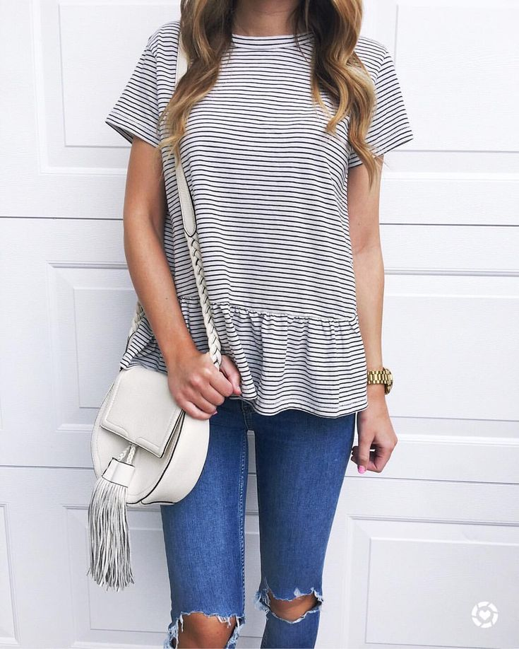 I like the loose peplum, and how long it is
