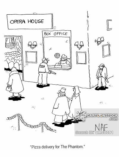 Phantom of the Opera    Pizza