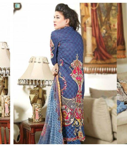 Rangrasiya Embroidered Lawn Suits Vol.3 D-1046A