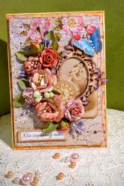 Sizzix Paper Punch - Tattered Flower, cardmaking, kartki, flowers diy,
