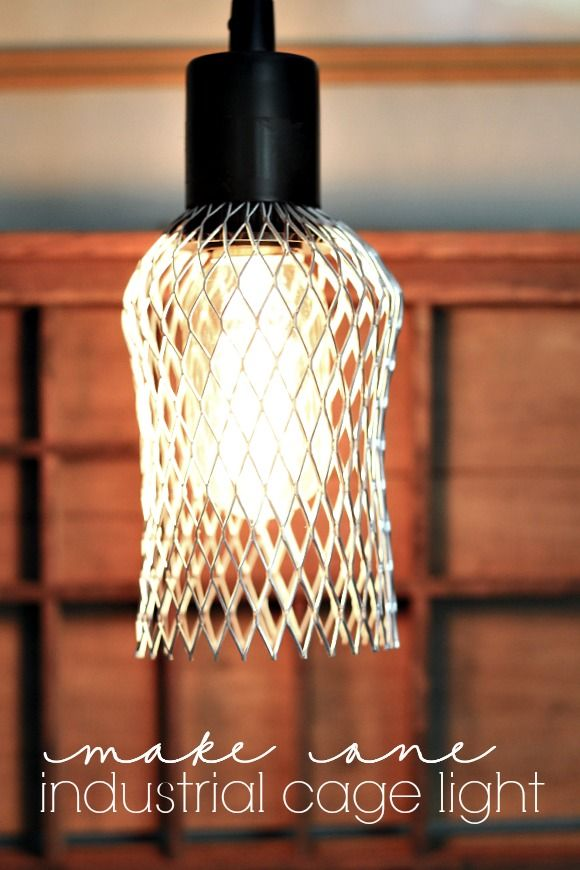 Cage Light Bulb Cover Your Funky Junk A Repurposing Community Board Pinterest And Bulbs