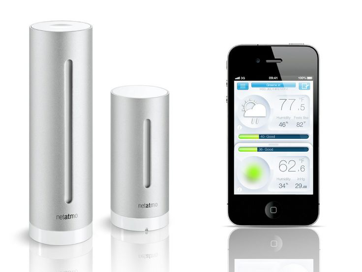 If your local weather report never seems accurate, the Netatmo Home Weather System is a healthy alternative.  Speaking of health, it isn't just designed to provide an accurate picture of outdoor weather, but also the air quality inside your home.
