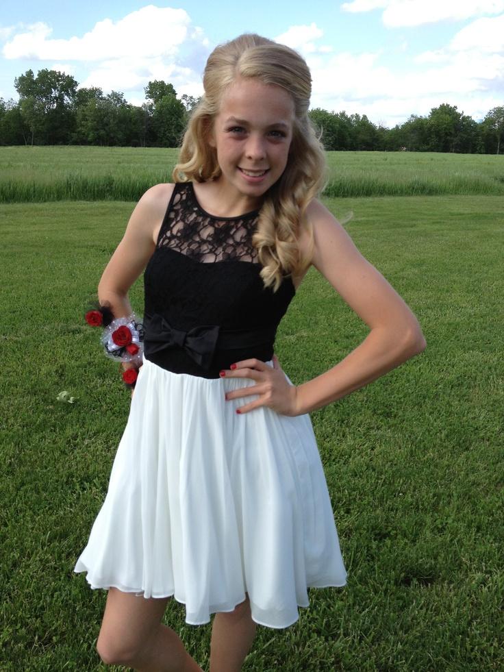 hailey 8th grade graduation dress dinner dance