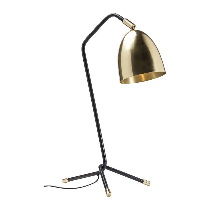 Lampe de table design en laiton - Knit - Kare Design