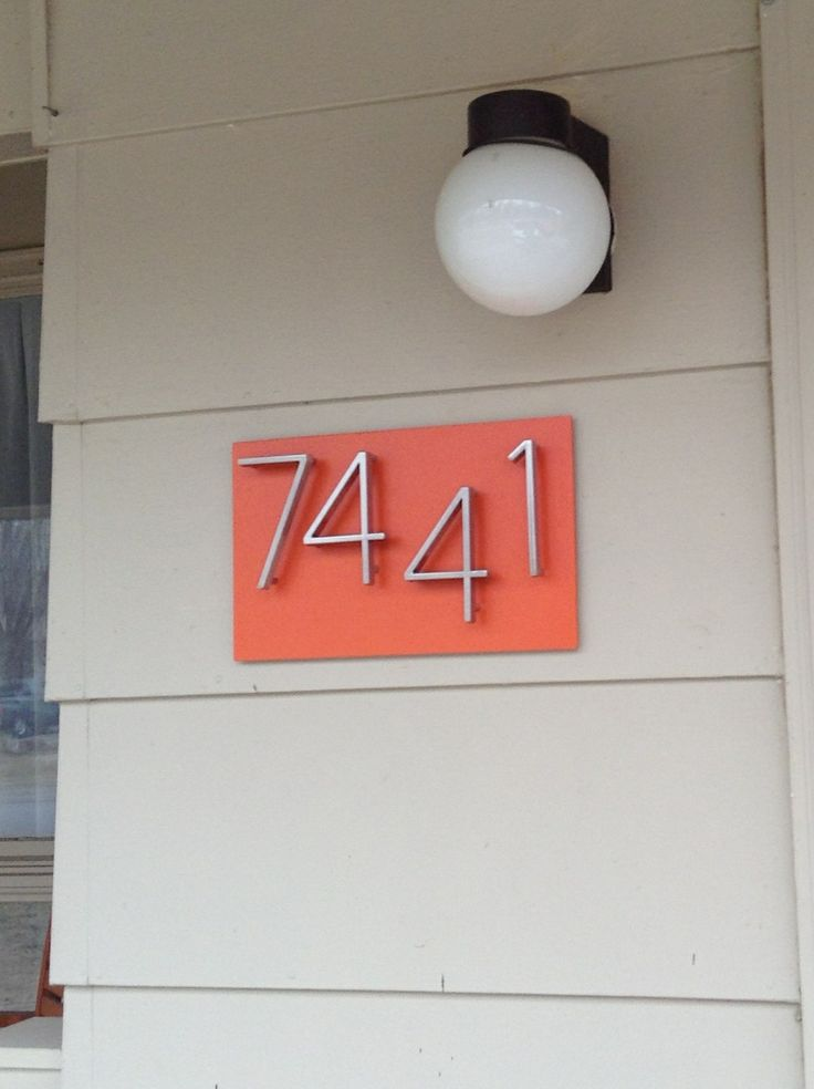 49 Best Images About Blossom Yf House Numbers On