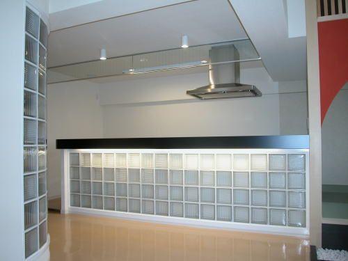ガラスブロックを使ってインテリアをコーディネートしました。 | 住宅デザインの現場