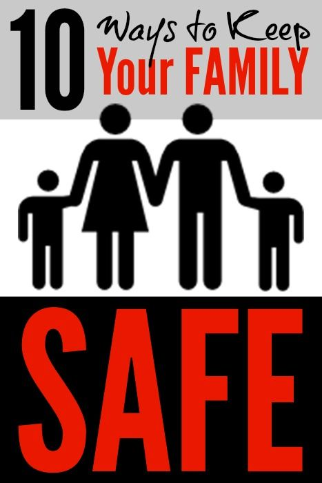 10 Ways to Make Your Family Safer by the End of the Year!