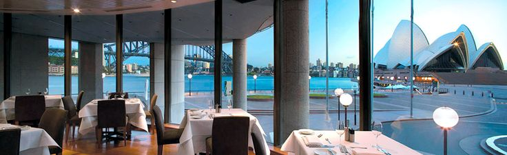Aria restaurant..Nice view, great food.