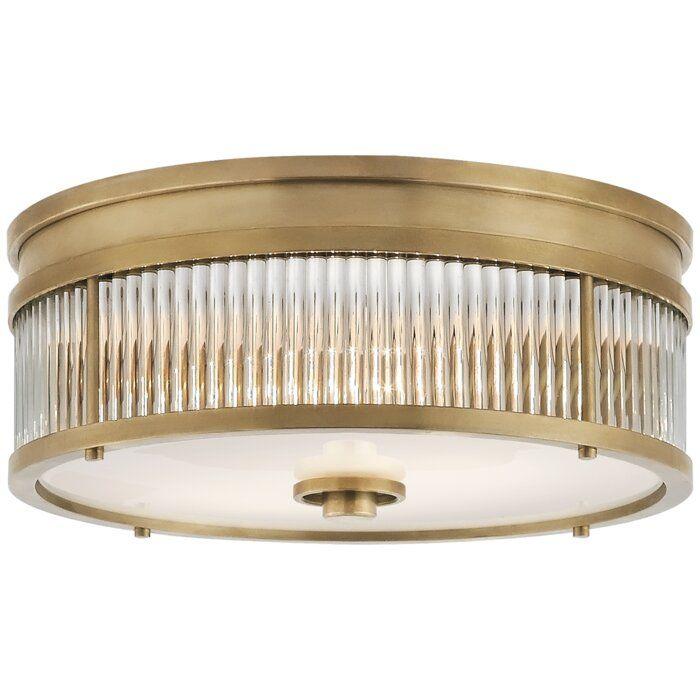 Ralph Lauren Allen 2 Light Flush Mount Ceiling Light Fixtures Flush Mount Ceiling Lights Visual Comfort