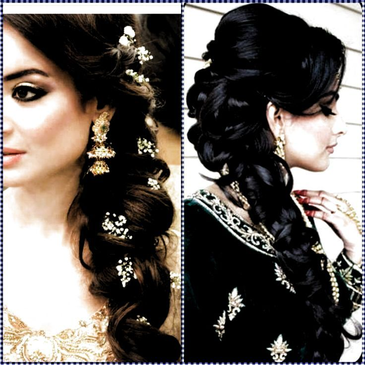 Hairstyles For Indian Wedding Saree In 2020 Indian Wedding Hairstyles Wedding Hairstyles Bridesmaid Indian Wedding Bridesmaids