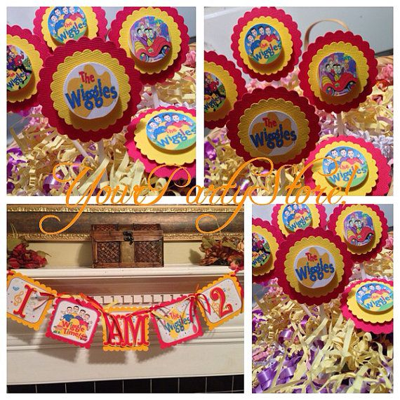 THE WIGGLES Birthday Banner by YourPartyStore on Etsy, $13.00