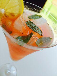 Bade'nin Şekeri * Bade's Sugar: Çilekli Ihlamur Limonatası / Strawberry Linden Lemonade