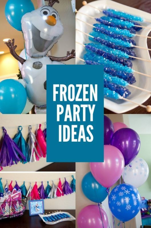Throwing a Disney Frozen Birthday Party? Check out these tips and must haves! #ebay #guide #sp