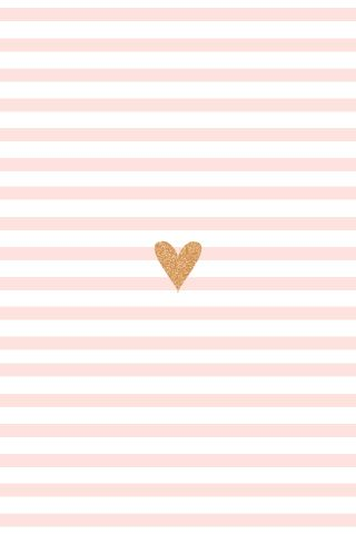 cute // iphone wallpaper hearts and stripes