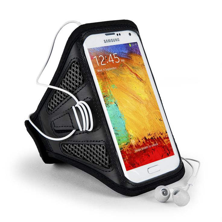 SumacLife Mesh Armband for 6 Plus, Note 4, Xperia Z3, One Plus One, G3, HTC One - Retail Packaging - Black. Keeps your phone secure and out of the way. Lightweight mesh keeps sweat and moisture wicked away. Adjustable Velcro strap to fit all arm sizes. Allows access to all ports and buttons. Wrap up excess headphone cord conveniently. See through cover allows easy access to your screen and does not interfere with touch screen capabilities. Overall length 18 in.