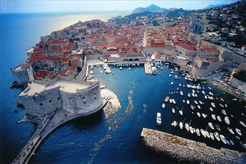 Dubrovnik, Croatia.  The most amazing medieval port of the Dalmatian Sea