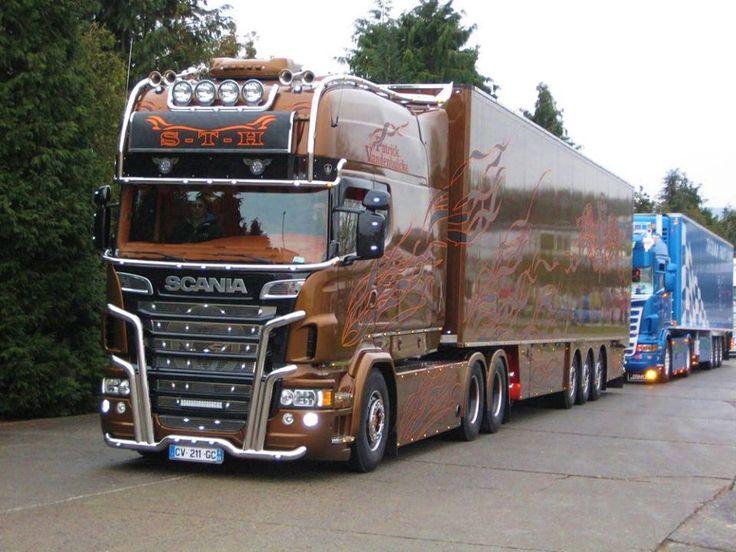 Les 126 meilleures images propos de scaniya trucks sur for Interieur scania longline