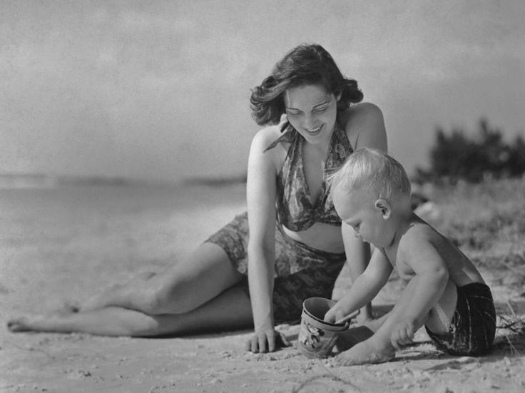 Maluchy na plaży