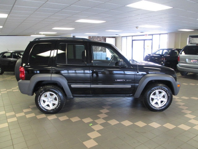 Car #8  2002 Jeep Liberty Sport.