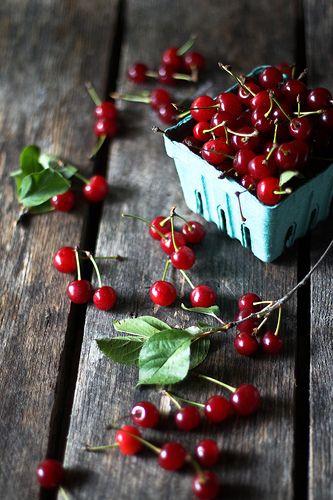 My neighbors tree drops a million cherries into my yard!! So:  Sour Cherry Jam