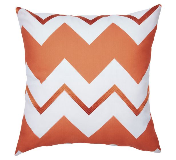 A clever reversible design - Chevro cushion from Fantastic Furniture.