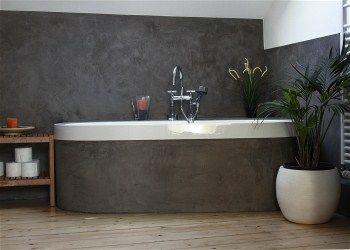 fugenloses bad mit wasserfestem wandputz mehr infos unter. Black Bedroom Furniture Sets. Home Design Ideas