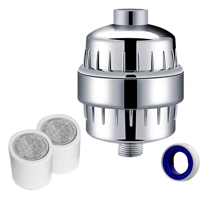 Quantum Gm 10 Stage Shower Head Filter With 2 Cartridges