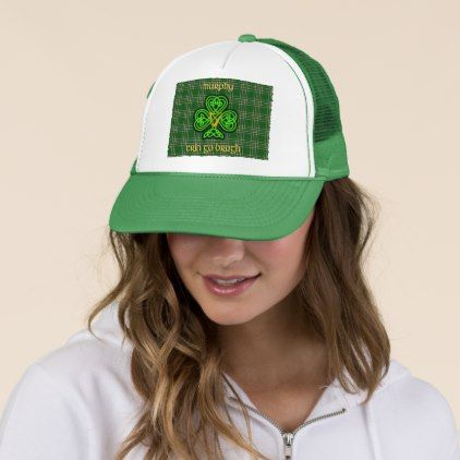 Murphy Irish Hat with Celtic Knot - st patricks day gifts Saint Patrick's Day Saint Patrick Ireland irish holiday party