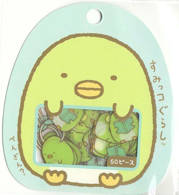 Kawaii Japan Sticker Flake Assort: Sumikko Gurashi Penguin
