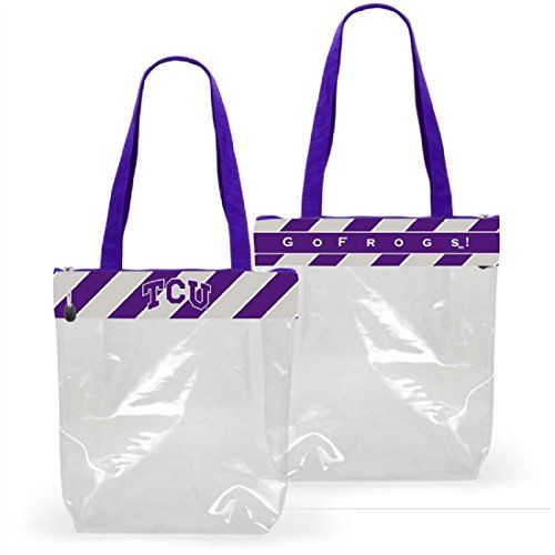GEAR UP FOR GAME DAY! TCU (Texas Christian University) Clear Gameday Stadium To... https://www.amazon.com/dp/B0743KVM3Y/ref=cm_sw_r_pi_dp_x_9DjGzb47NGGG9
