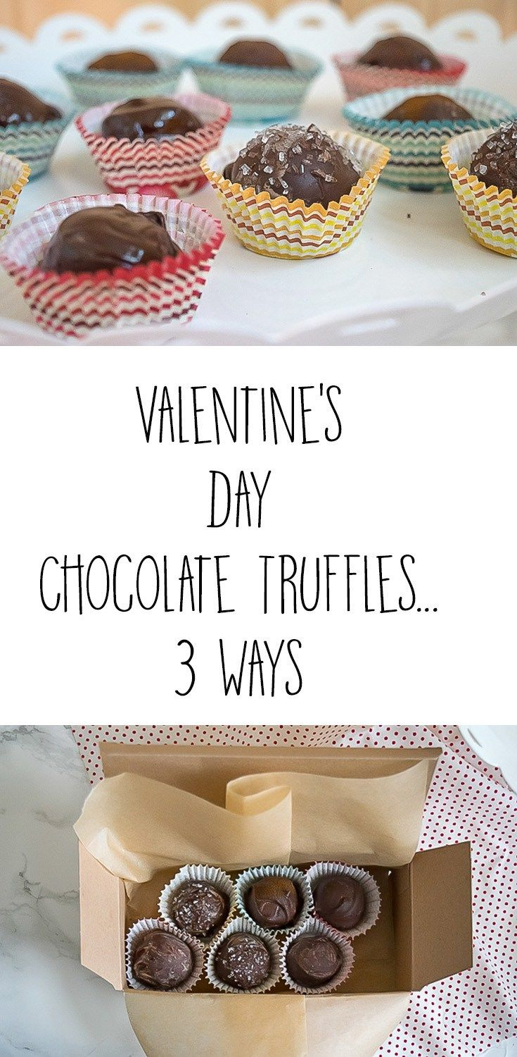 Have you made a treat for your sweet for Valentine's Day? Step by step, illustrated recipe & directions to diy assorted chocolate truffles. Gluten-Free
