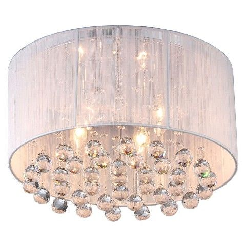 target-  Bedroom light Warehouse Of Tiffany Chandelier Ceiling Lights -White