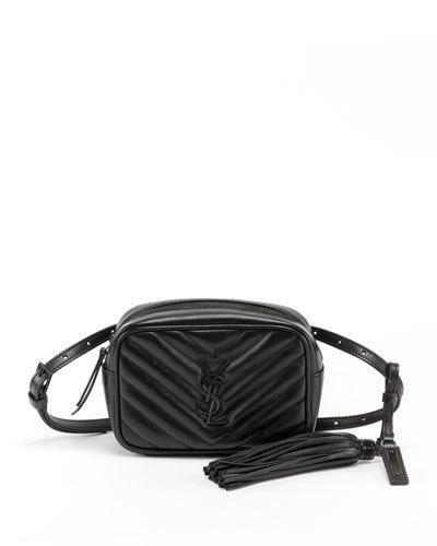 Monogram Quilted Belt Laurent Ysl Saint Bag Leather V4249 Lou tv1WTU0q