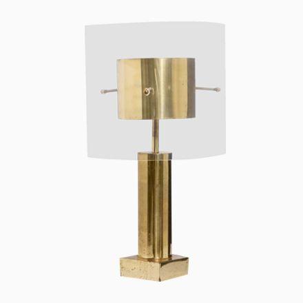 Französische Messing U0026 Lucite Tischlampe, 1970er Jetzt Bestellen Unter: ...
