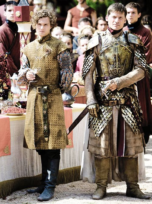 Loras Tyrell and Jaime Lannister ~ Game of Thrones Fan Art