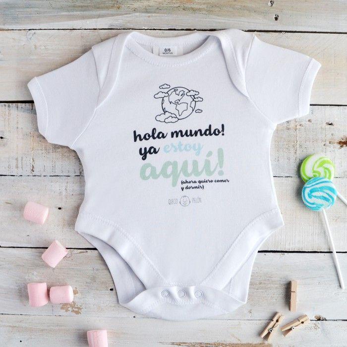 """Body """"Hola mundo"""" #bebe #body"""